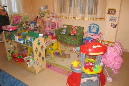 Кукольный уголок в детском саду своими руками